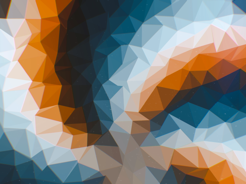 Reliefs multicolor brown orange blue geometric relief blur spiral helix triangle flat graphic pattern retro digital artwork abstract art wallpaper design abstract
