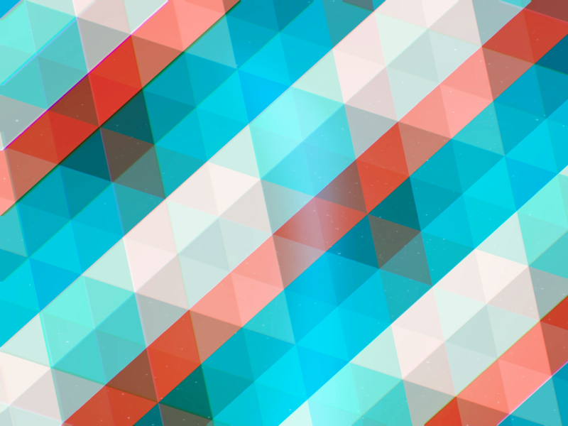 Blue and Red Triangles blue and white blue red graphic retro triangle losange line row stripes geometric minimal flat shape pattern digital abstract art wallpaper design abstract