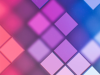 Squares block dice purple blue pink blurred background pi blur fuzzy geometry pattern artwork geometric flat minimal abstract art digital abstract wallpaper design