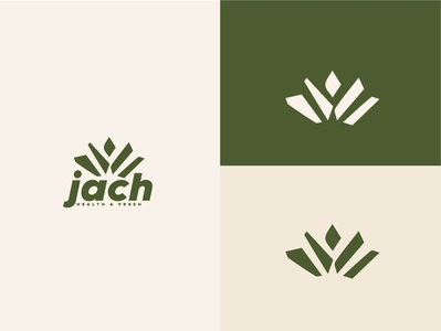 Jach logo lettering minimal illustrator typography logo illustration icon design branding app
