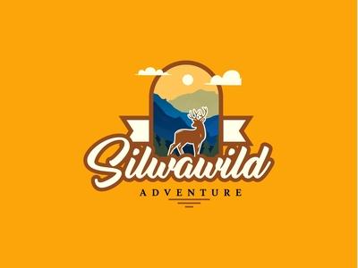 SILWAWILD logo logo design creative logo design branding retro vintage logodesign logo design