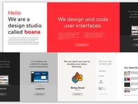 Boana Website