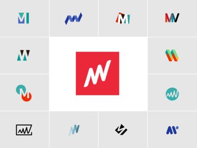Matterway Logo Brand Exploration