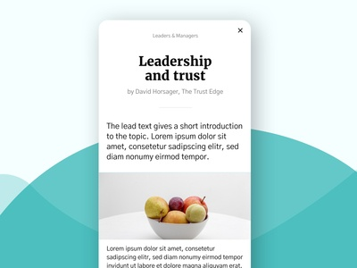 Mobile Article sketch simple minimal ios graphic design flat white color clean design art iphonex ui ux uiux fruits design fruit mobile app food