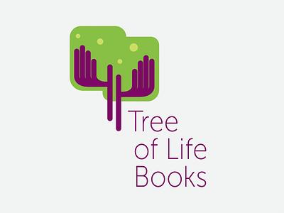 Tree of Life Books logo logo design identity branding logo publisher