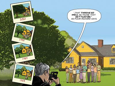 Benjamin Franklin's The Way To Wealth – p. 28 benjamin franklin adobe photoshop adobe illustrator success american history illustration graphic novel comics