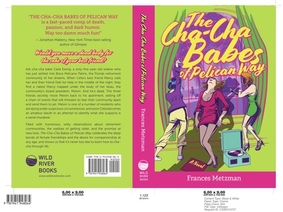 Cha-Cha Babes Of Pelican Way cover wild river books adobe illustrator novel book cover