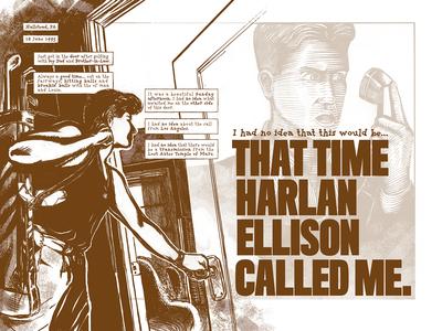That time Harlan Ellison called me. p. 1–2