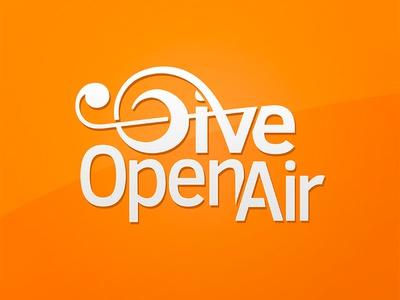 Give Open Air Logo Dribble