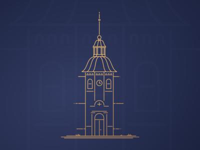 Castle Tower Illustration