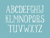 the Weezie font