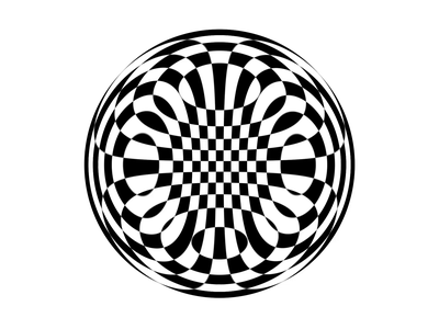 Hypno Loop weird hypnosis hypnotic chess check loop kaleidoscope blackandwhite white black circle after effects motion motion graphics animation