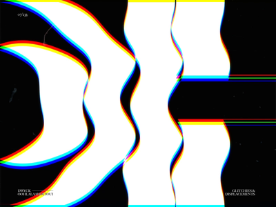 OOHLALAAHOUIOUI // G&D07 displacement typography type after effects motion glitch motion graphics animation