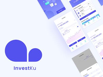 InvestKu app design ux ui