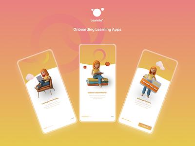 Onboarding Mobile Apps design minimal app ux ui