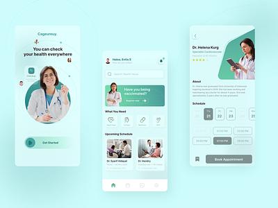 Medical App mobileapp app uidesign figma uiuxdesign design ui uiux ux
