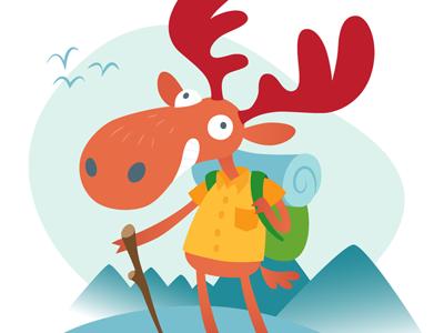 Camper Moose