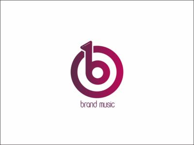 B Music Logo designs design branding minimalist logo logos logo branding design brand design logodesign graphicdesign