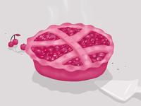 Dribbble Berry Pie