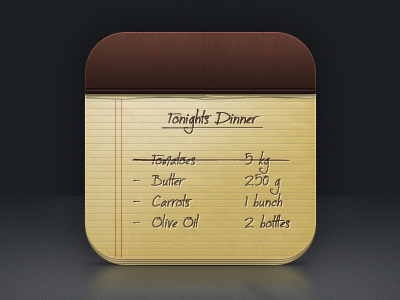 Notes icon notes icon iphone