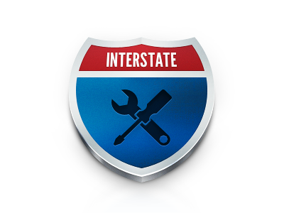 Interstate interstate icon sign app ios