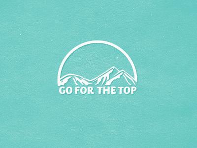 Go For The Top logo mark brand