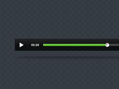 UI Player ui player video psd