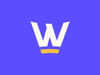 Wonderment logo publishing reading book letter w color mark word mark logo