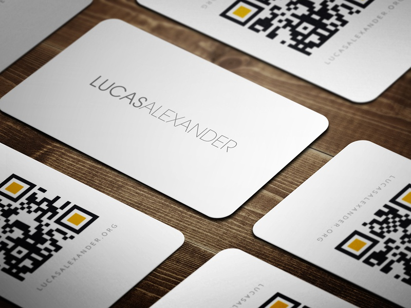 Promotional business cards by lucas alexander dribbble even though i make lots of business card designs every year i rarely take the time to make some for myself i wanted some promotional cards colourmoves