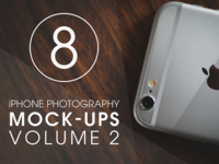 iPhone Photography Mock-Ups [VOL. 2]