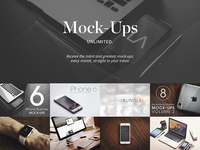 Mock-Ups UNLIMITED. apple watch ebook reader smartwatch ux ui mac imac macbook apple iphone mock-ups mockups
