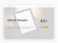 Online Store mockup ebook kindle ecommerce
