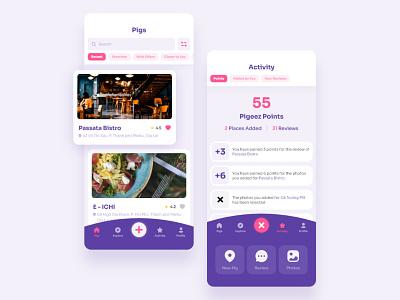 Rewards Mobile App UI UX Design mobile app ui  ux rewards app ux uxdesign uidesign ui mobile app