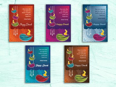 Diwali Greeting Card freelance designer diwali greetings packagingdesign logo designs logo adobe photoshop adobe indesign illustration adobe illustrator packaging illustrator graphic designer graphicdesign freelancer branding greeting card seasons greetings greetings
