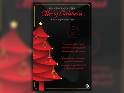 Christmas Greetings invitation card christmas card greeting card business card logo design logo packaging design freelance designer adobe photoshop adobe indesign illustration adobe illustrator packaging illustrator graphic designer graphicdesign freelancer branding