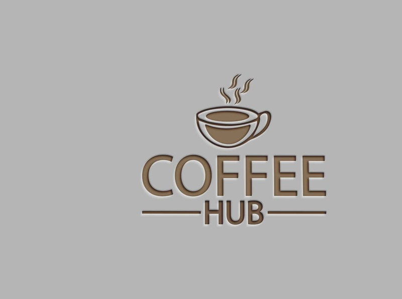 COFFEE LOGO Design type vector lettering icon illustrator art typography branding design logo