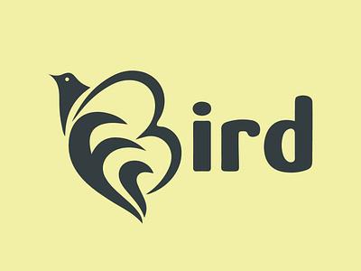 Bird Logo Design art typography illustrator design logo branding luxgary logo design fashion design brand identity brand design branding design creative design minimalist logo logodesign