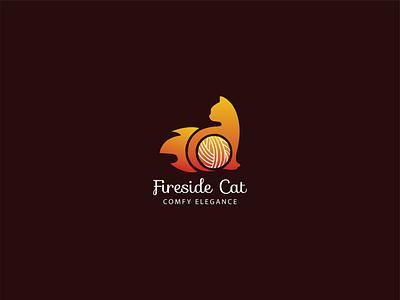 fireside cat-Logo Design-Yearn Sell Finance logoconcept logonew logoawesome logoart logoshop logomark logoroom logosai logodesignersclub logomaker logoplace logo branding logotypes logotipo logos logodesigner logodesigns logodaily logotype logo design