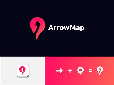 arrowmap logo locator locate arrow trip