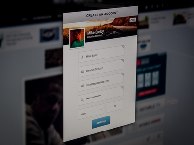 Modal Sign Up