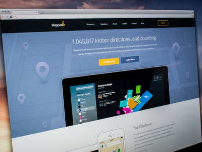 MappedIn Landing Page