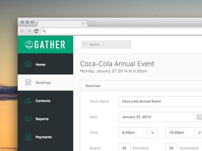 Gather Web App