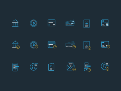 Icons credit card mike busby icons web app design bitgold bank wire bitcoin