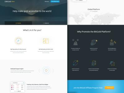 Affiliates Landing Page