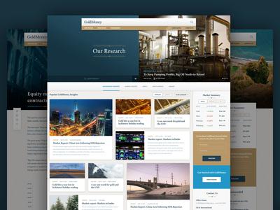 GoldMoney Research Portal