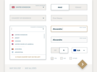 GMY -  Sample UI Elements