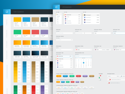 Goldmoney - Style & UI Guide user interface mike busby goldmoney interface components ui design brand design ui kit style guide
