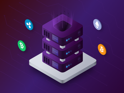 BlockVault Cold Storage Illustration illustration icons cold storage cryptocurrency icon design blockchain block chain block vault blockvault mike busby toronto bitcoin
