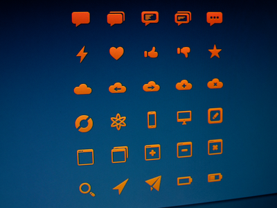Glyphs.co Preview - Full Icon Set