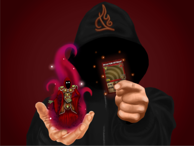 Wizard101 - Fire Wizard hood spell fire wizard101 wizard witch magic fantasy illustration